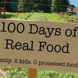 100 Days of Real Food awesome healthy blog