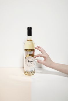 Ágnes Chardonnay by Kristóf Kőmíves, via Behance