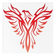 Customizable Acrylic Wall Art made by Acrylic Idea Factory. Personalize it with photos & text or shop existing designs! Phoenix Bird Images, Phoenix Bird Tattoos, Phoenix Tattoo Design, Phoenix Art, Little Bird Tattoos, Red Bird Tattoos, Eagle Tattoos, Bird Tattoo Meaning, Bird Tattoo Wrist