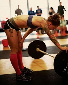 Girls Who Do Crossfit - I'll eventually get there- minus the tats!
