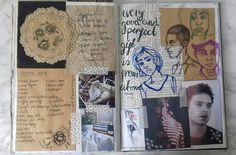 A Level Art Sketchbook, Art Diary, Sketch Books, Notes Design, Gcse Art, Art Journals, Journal Inspiration, Diaries, Notebooks