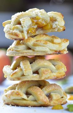 Peach Pie Cookies bring you the best of both world- deliciousness of traditional peach pie with the convenience of a cookie-no fork required!!!