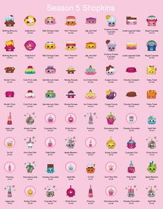 Monster image for shopkins list season 2 printable