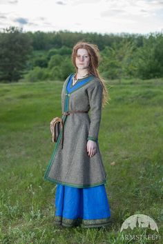 VERKAUF Damen Mantel Viking Kaftan Ingrid OHNE