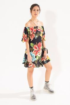 vestido gode max colombiana preto