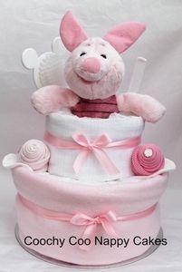Winnie The Pooh, Piglet Nappy Cake
