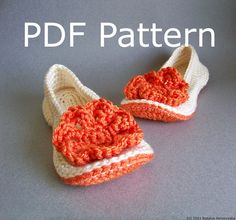 CROCHET PATTERN - Crochet Slipper Pattern - Crochet Slippers Pattern - Women Slippers Pattern (Women Sizes 5-12) - Instant Download on Etsy, $5.00