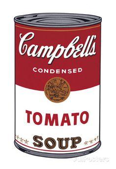 Zuppa Campbell I: pomodoro, 1968 circa, in inglese Arte di Andy Warhol su AllPosters.it