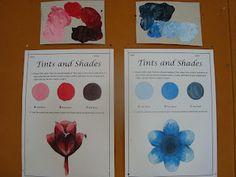 Once upon an Art Room: Tinting and Shading- skills worksheet