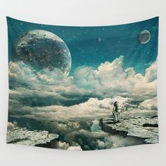 Buy The explorer by Seamless as a high quality Wall Tapestry. Worldwide shipping available at Society6.com. Just one of millions of products available.