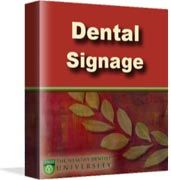 Signage is the #1 easiest way to acquire new patients! The economics of good dental signage are too important   to just wing it. A well-deigned set of signs can easily put $1,000,000 extra into a dentist's pension fund for   retirement.