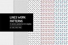 Lineswork Pattern   @creativework247
