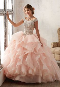 Mori Lee Quinceanera Dress Style 89138