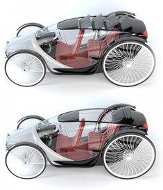 Lovaskocsi ihlette a futurisztikus autót « Alternatív Energia - alternatív energia hírportál