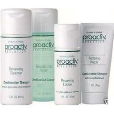 Proactiv Only thing that helped clear up my skin from all the hormones after my son was born!