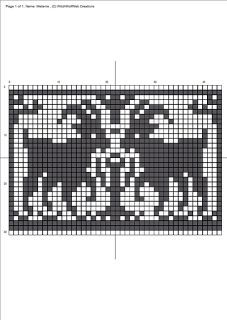 Ravelry: Goat Chart pattern by Melanie Nordberg Fair Isle Knitting Patterns, Bead Loom Patterns, Knitting Charts, Cross Stitch Designs, Cross Stitch Patterns, Fair Isle Chart, Drops Patterns, Pixel Pattern, Animal Quilts
