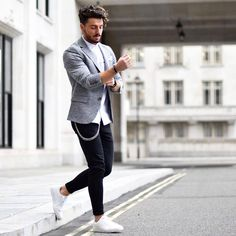 Men outfit outfit blazer outfits, casual blazer, o Blazer Outfits Men, Stylish Mens Outfits, Casual Blazer, Casual Winter Outfits, Outfit Winter, Blazers For Men Casual, Blazer With Jeans Men, Dope Outfits, Comfortable Outfits