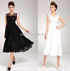 Wholesale chiffon lace maxi dress,women dress,ladies' dress 2 colour size S,M,L, Free shipping, $20.71-24.78/Piece | DHgate