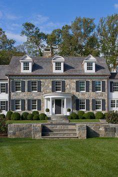 Custom Colonial - traditional - Exterior - New York - Wright Building Company