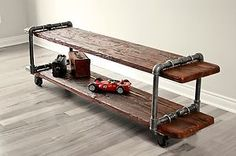 Industrial tv-stand