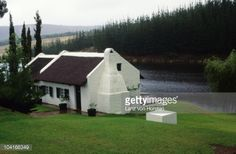 Stock Photo : Farm cottage on Lake Hermanus, Overberg District, Western Cape Province, South Africa Farm Cottage, Cape Town, South Africa, Shed, African, Outdoor Structures, Cabin, Stock Photos, House Styles