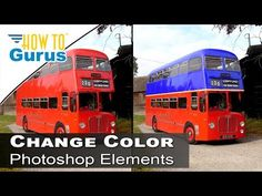 How to Change Color of Anything Replace Color Tool Adobe Photoshop Elements 2018 15 14 13 Tutorial - by   How To Gurus   via YouTube