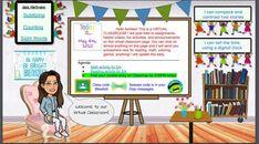 Teachers Are Creating Virtual Bitmoji Classrooms—Cute and Helpful Too! Teaching Technology, Teaching Resources, Technology Gifts, Technology Design, Technology Gadgets, Technology Management, Technology Humor, Teaching Ideas, Classroom Organization