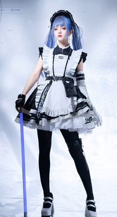 Maid Outfit, Maid Dress, Maid Cosplay, Cosplay Girls, Female Pose Reference, Real Costumes, Poses References, Japan Girl, Female Poses