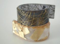 recycled resin rings with natural fibers