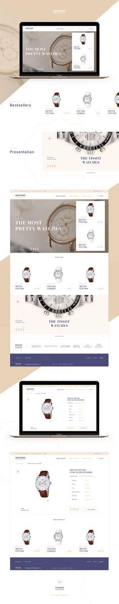 Luxury e-commerce on Behance