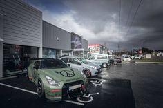 Military Green Liberty Walk Nissan GT-R R35