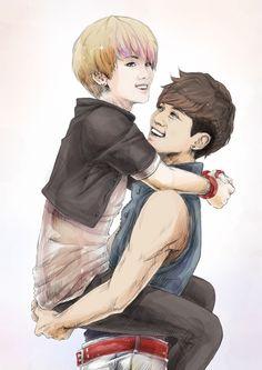JongKey fan art