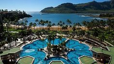 26,000 square feet of crisp blue water surrounded by waterfalls and grand pillars as your sip a pina colada and relax by the poolside. This is the kind of paradise you've been dreaming about that Marriott Kauai Beach ...