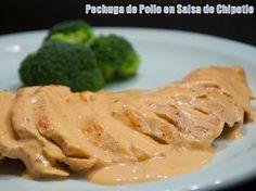 Pechuga de Pollo en Salsa de Chile Chipotle