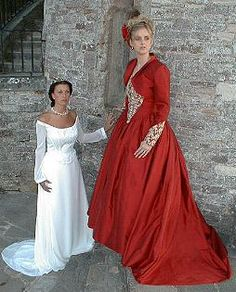 Elizabeth Smith bespoke gowns - Coloured Gowns