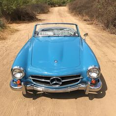 1959 Mercedes-Benz - Gorgeous in blue and convertible! Beverly Hills Cars, Mercedez Benz, Classic Mercedes, Super Cars, Convertible, Automobile, Email Address, Caption, Club