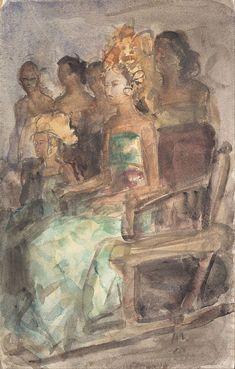Isaac Israëls - Indische prinses 1890