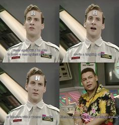 When Rimmer is lamenting the loss of his life and then he realises he didn't have a life!