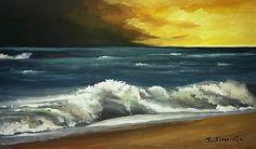 KARIŞSAN DALGALARA  Hani diyorum şöyle; Uzaklardasın ya! Deniz kenarında… Seyrederken dalgaları, Düşünürken beni…  Yok! Yok! Yetmez. O dalgalar, Seni bana getiremez...  Bırak kendini denize, Karışsın, O dalgalı sarı saçların. Sarsınlar birbirini… Ve hiç bırakmasın.  Birden çıksa tsunami, Kaçamadan, Kurtulamadan, Alsa seni bir çöp misali, Getirse bana doğru.  Savaş SİMİTLİ 131033 ağu 14