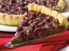 Tarte croustillante au chocolat et griottes - La Table à Dessert