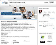iTEC findet für jede Aufgabe die passenden IT-Mitarbeiter #HR #Personalbeschaffung