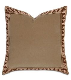 Jackson Gold Decorative Pillow In The Barclay Butera Lifestyle Line Offered By Eastern Accents