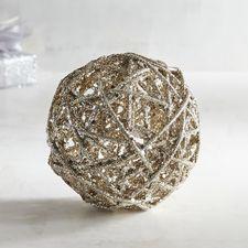 Champagne Glitter Sphere