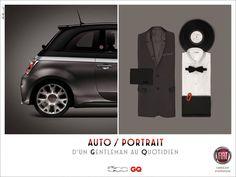 Fiat 500 - rouler en fiat 500 montre que l'on est un gentleman, 2013