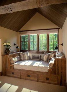 Фото из статьи: Как организовать место для чтения: 25 уютных примеров