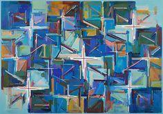 『Work F.116』1992年 油彩・キャンバス 182×259cm