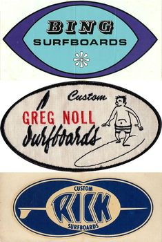 Vintage surf Brands***Research for possible future project.