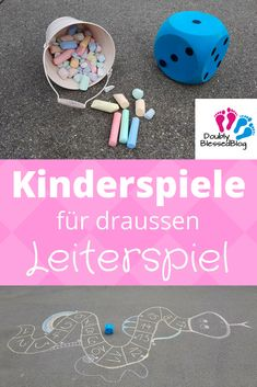 Kinderspiele - Riesen-Leiterspiel aus Kreide We love chalk games! What could be cooler than meeting other children outside, making up games and drawing them up yourself? This time we painted a ladder Games For Kids, Diy For Kids, Activities For Kids, First Week Of Pregnancy, Baby Showers Juegos, Elephant Baby Showers, Up Game, Boho Baby, Mother And Baby