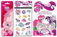 My Little Pony Three Piece Sticker Set ~ 145+ Stickers MLP http://www.amazon.com/dp/B01DX48RRW/ref=cm_sw_r_pi_dp_WSShxb03Y8HZE
