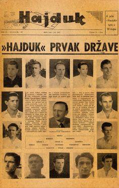 Hajduk Soccer, Football, Culture, Cards, Movie Posters, Movies, Futbol, Futbol, Films